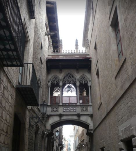 barri gotic Barcellona