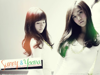 Sunny and Yoona pretty girls