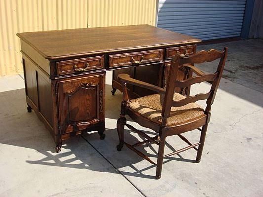 antique oak office furniture antique oak office chair