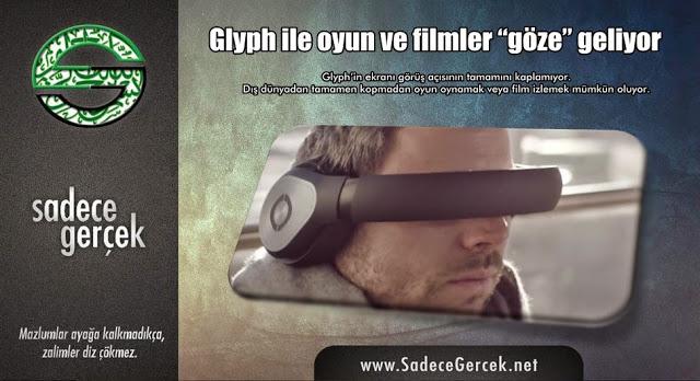 Glyph ile oyun ve filmler göze geliyor