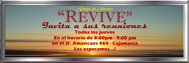 REVIVE - CAJAMARCA