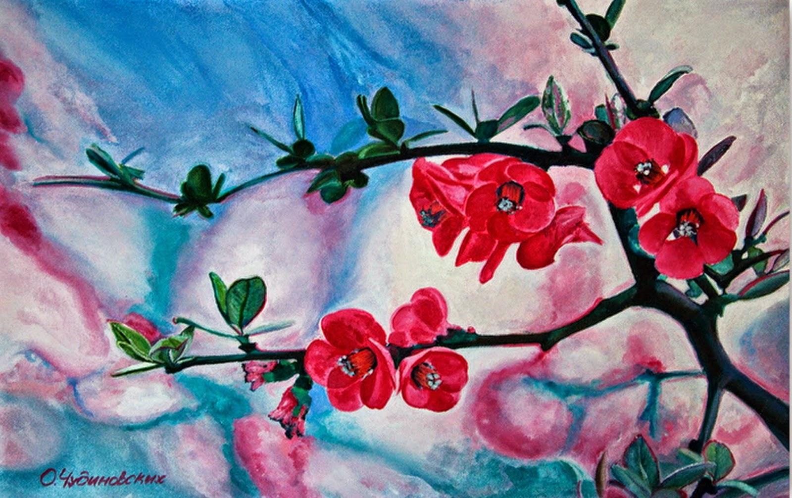 Imgenes Arte Pinturas Ideas Para Pintar Cuadros de Flores Imagenes Artsticas