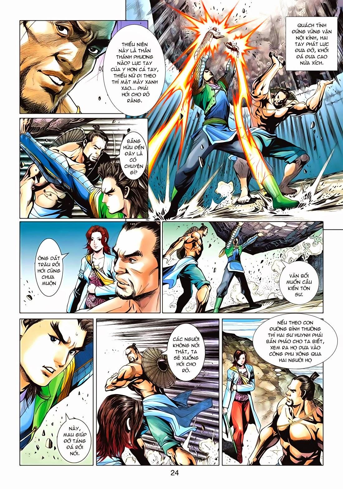 Anh Hùng Xạ Điêu anh hùng xạ đêu chap 72: ngư tiều canh độc trang 24