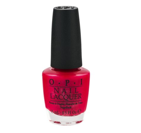 First Look Fridays, Nikki Diamond, nail artist, manicurist, interview, OPI Red Nail Polish