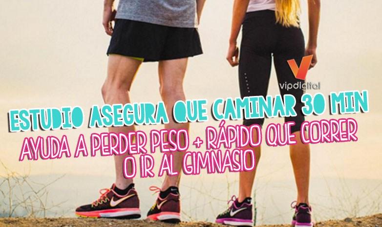Estudio caminar 30 minutos ayuda a perder peso m s r pido for Gimnasio 30 minutos