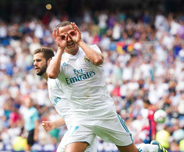 Real Madrid 1-1 Levante: Bất lực trước Raul 3