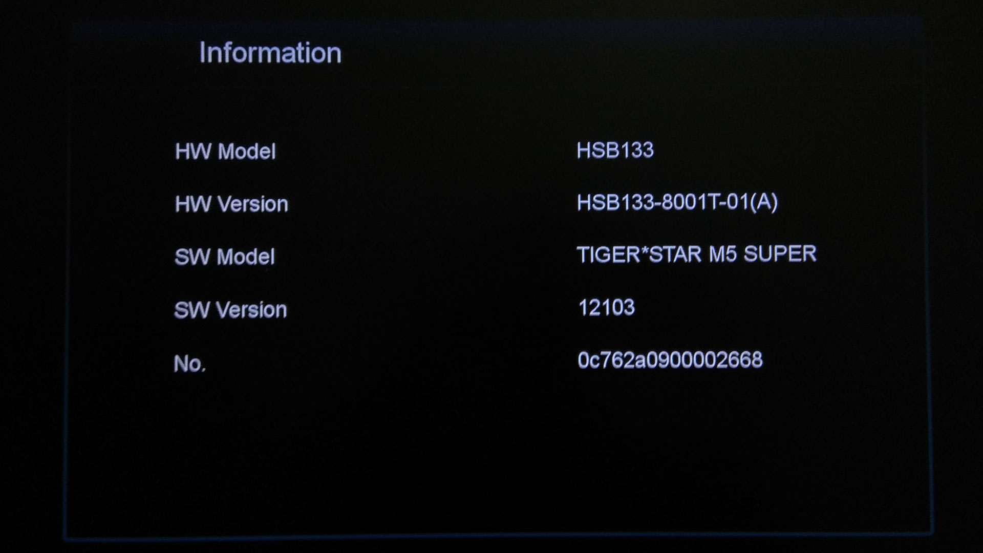 Software Tiger Star M5 Super Update Firmware Receiver