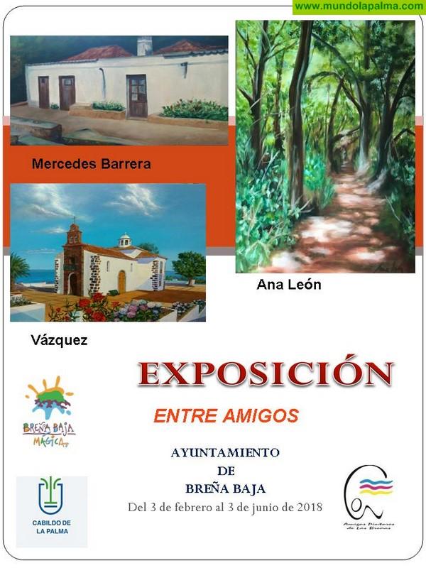"""Exposición """"Entre Amigos"""" de Amigos Pintores de Las Breñas"""