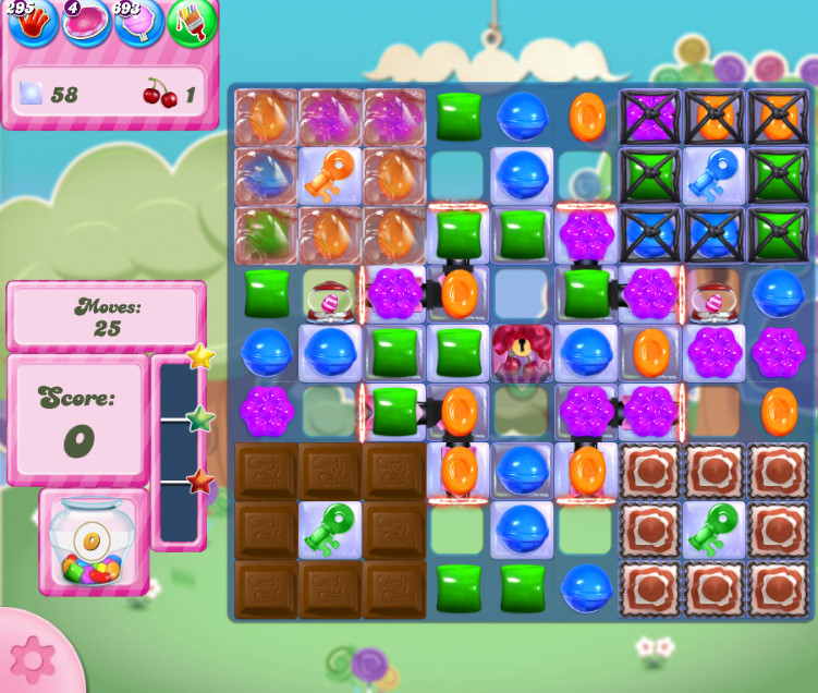 Candy Crush Saga level 2824