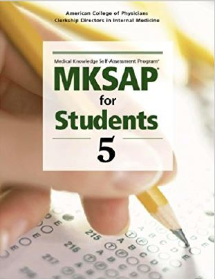 MKSAP for Students 5 - 5th edition