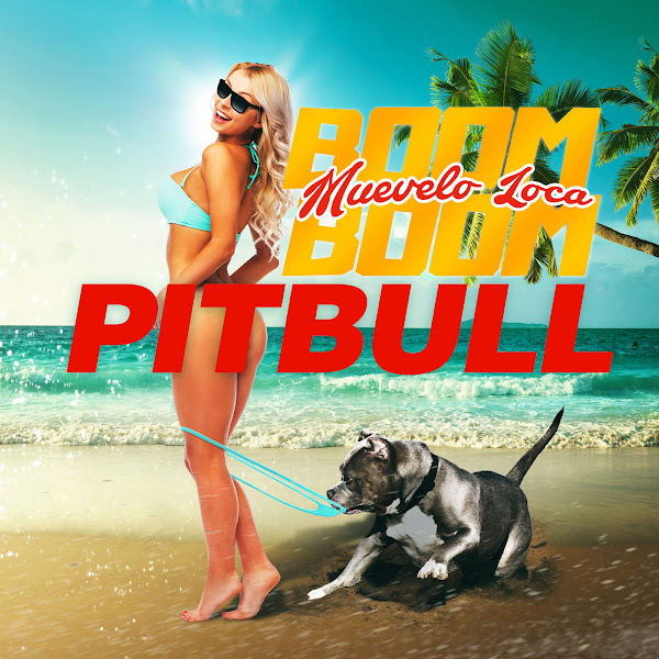 Pitbull - Muévelo Loca Boom Boom - Single Cover