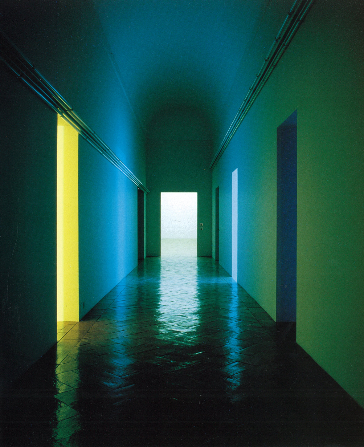 SARC 323 Colour, Pattern, Light: Dan Flavin, 1976, Varese ...