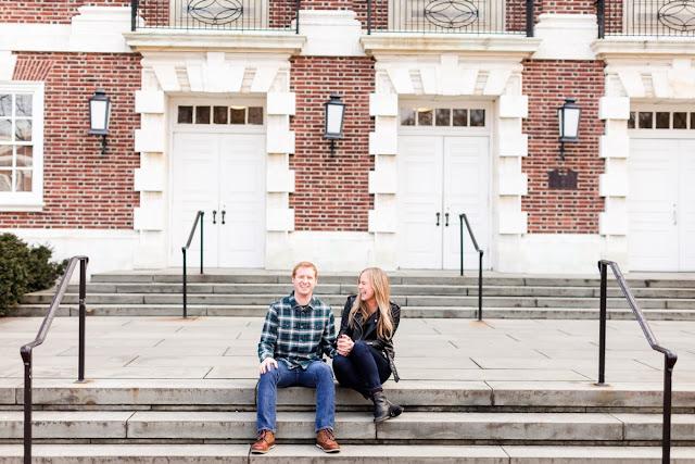University of Delaware Engagement Session photographed by Maryland Wedding Photographer Heather Ryan Photography
