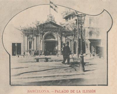 Кинотеатр 'Дворец иллюзий' (Palacio de la Ilusión), фото http://barcelofilia.blogspot.ru/