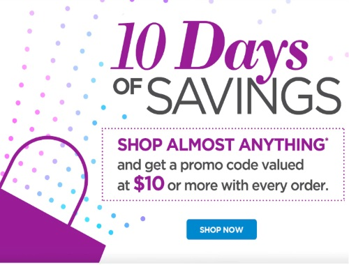 The Shopping Channel 10 Days of Savings $10 Off