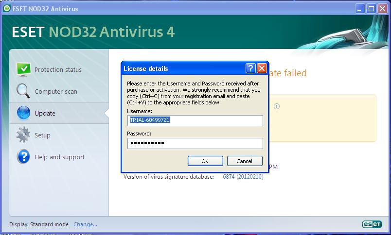 Eset nod32 license code | ESET NOD32 Antivirus 10 0 171 0