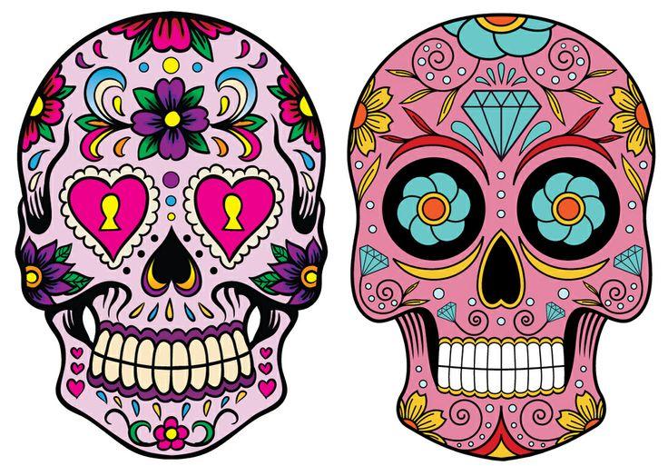 Qué Arte Quillo Calaverasmexicanas Para Trabajar La Línea Y El