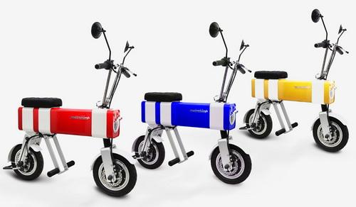 www.Tinuku.com Vanda Electrics launches electric bike Motochimp in Shenzhen International Industrial Design Fair in China