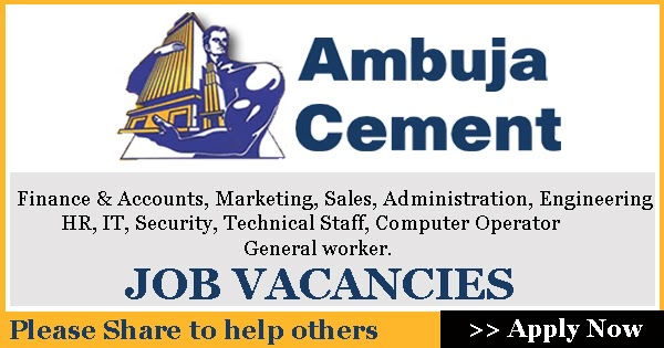 Ambuja Cements Limited : Ambuja cements limited releases bulk notification for