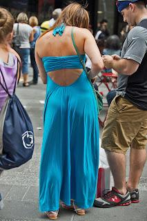 fotos mujeres vestidos pegados
