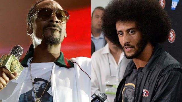 "Snoop Dogg responds to Colin Kaepernick after ""praising"" Fidel Castro"
