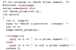 Cara Mengecek & Memeriksa Nomor Prime Menggunakan Fungsi User-defined C++