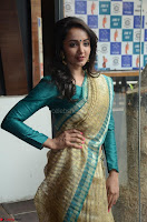 Tejaswi Madivada looks super cute in Saree at V care fund raising event COLORS ~  Exclusive 040.JPG
