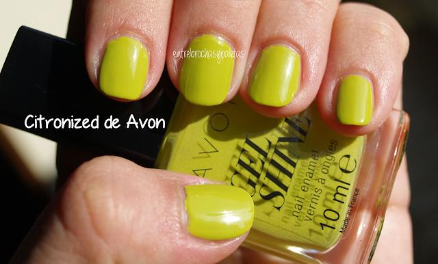 esmalte uñas avon citronized