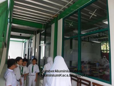 Kusen Aluminium dalam Al-Iman