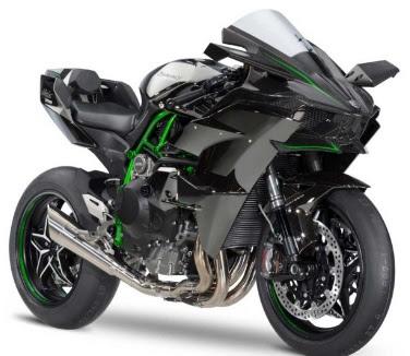 Foto Modifikasi Motor Kawasaki Ninja H2 Terbaru 2016