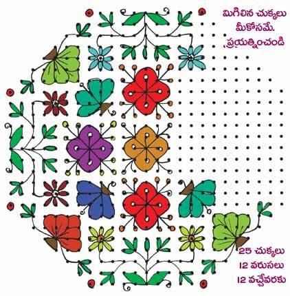 Sankranti Muggulu Designs  Rangoli  Sankranthi Rangavallikalu Designs