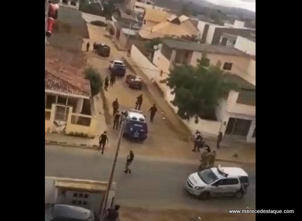 Criminosos morrem em confronto com a polícia após assalto com reféns em Surubim