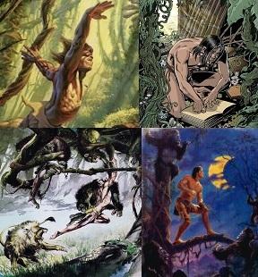 Tarzan dzsungeltörténetei jelenetek
