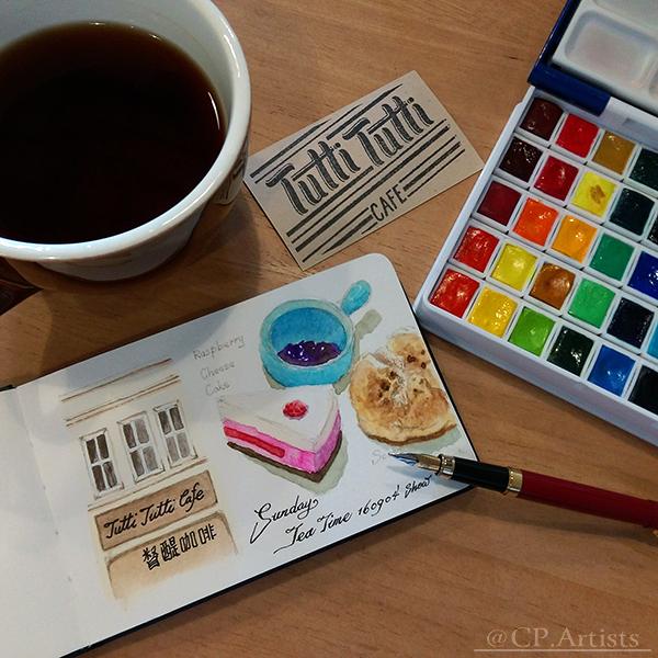 畫畫課、水彩課及色鉛課