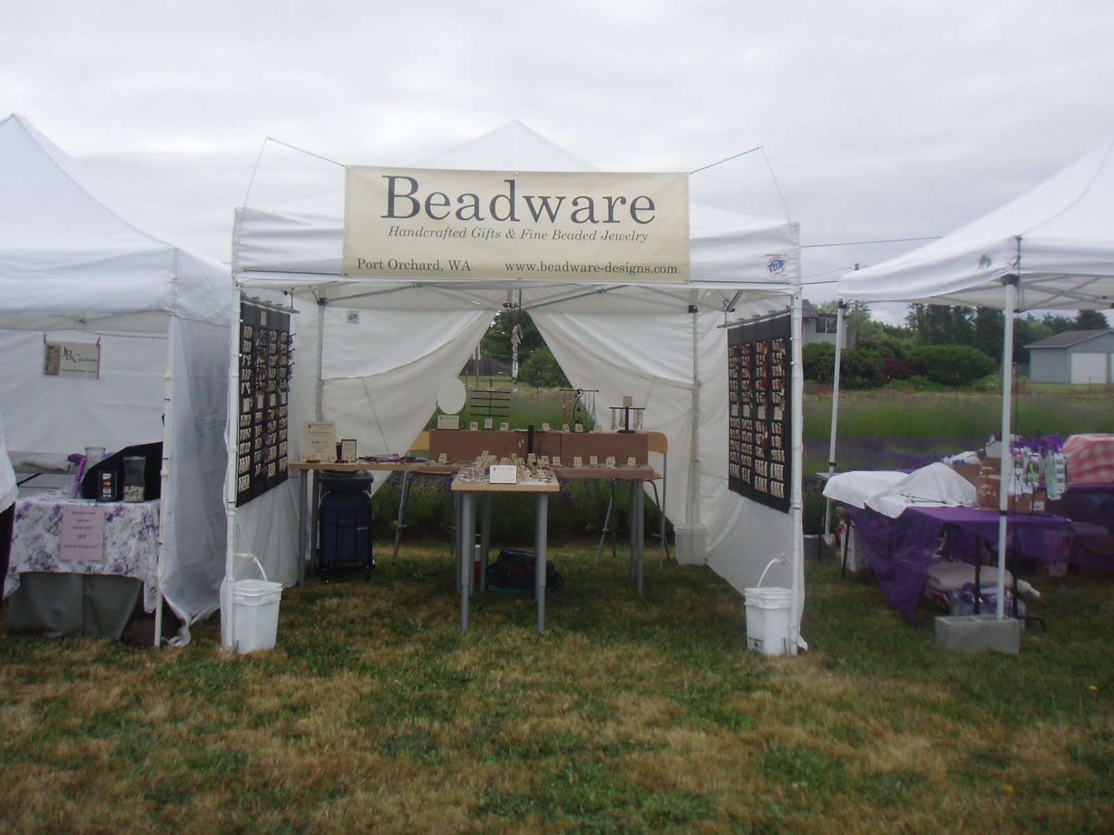 Beadware: View from my Tent - Lavender
