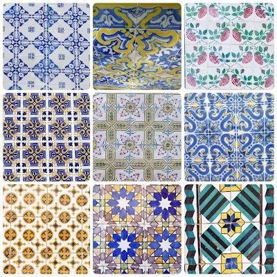 Azulejos-Lisbonne