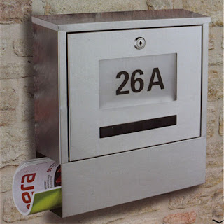 Kotak surat stainless