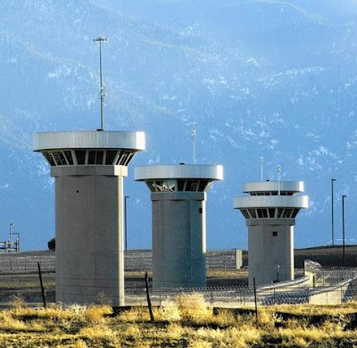 'Supermax' high-security prison, Florence, Colorado