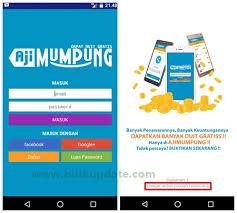 Aplikasi Android Terbaru Penghasil Pulsa Ajimumpung 2016