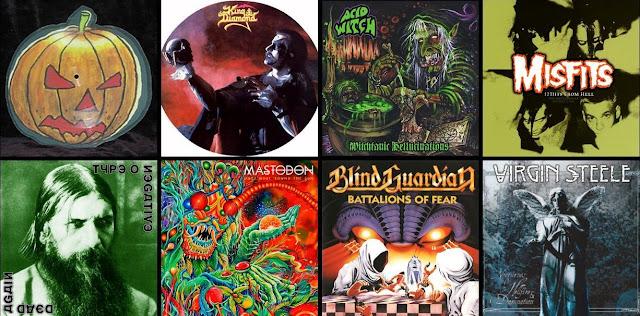 Rockowe i metalowe utwory na Halloween