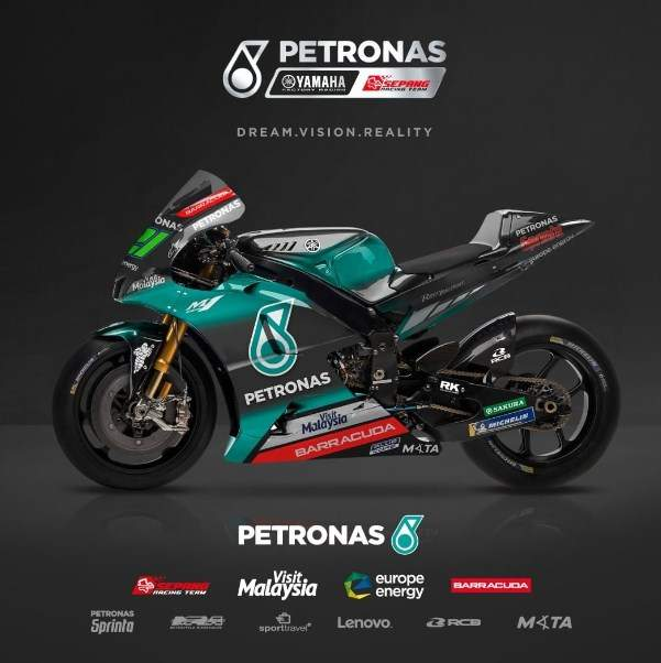 Livery Petronas Yamaha SIC Motogp 2019