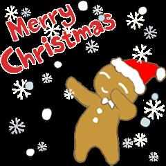 gingerbread Man-Merry Christmas