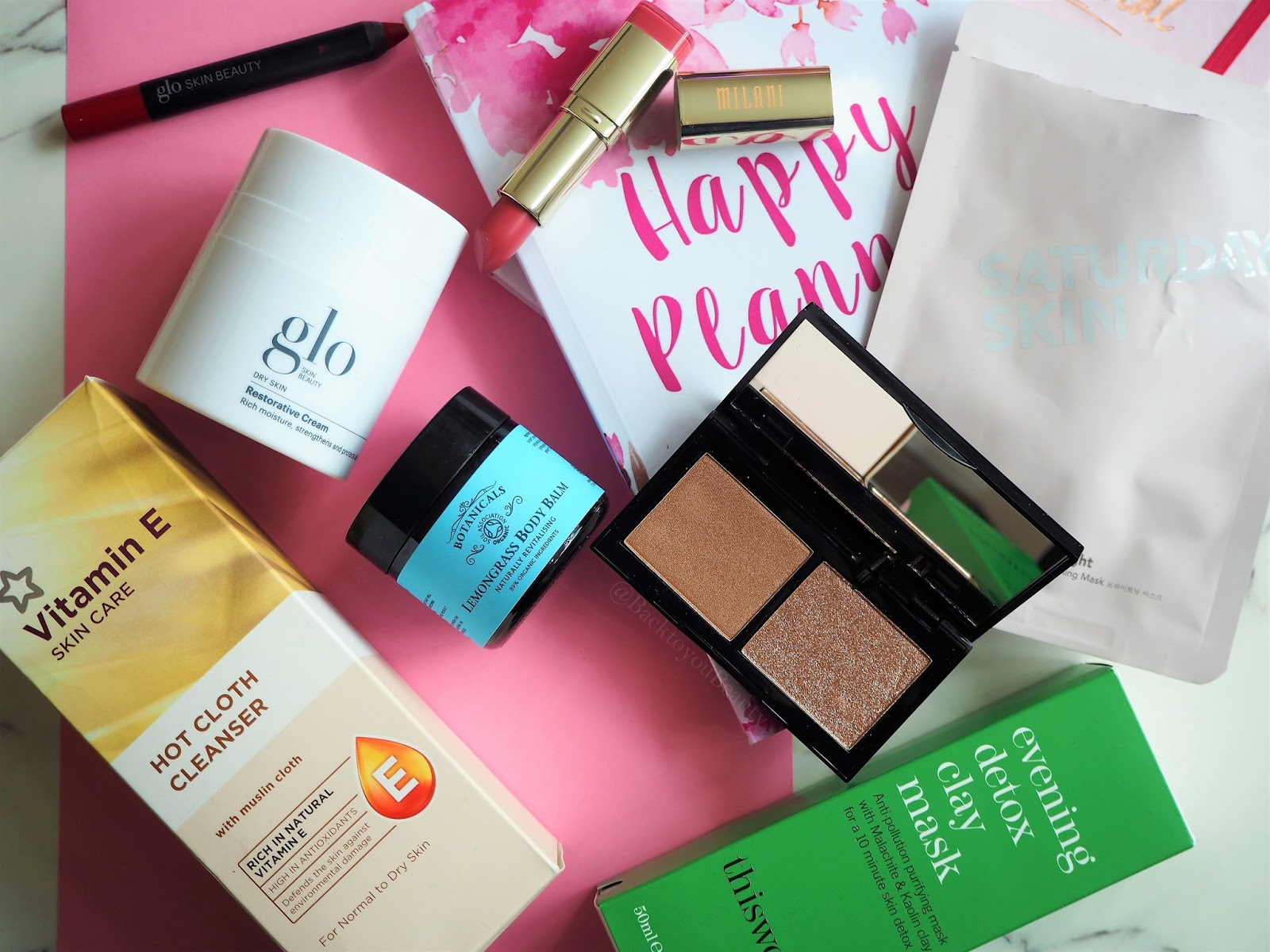 February - What's on my desk? Products i received in beauty PR