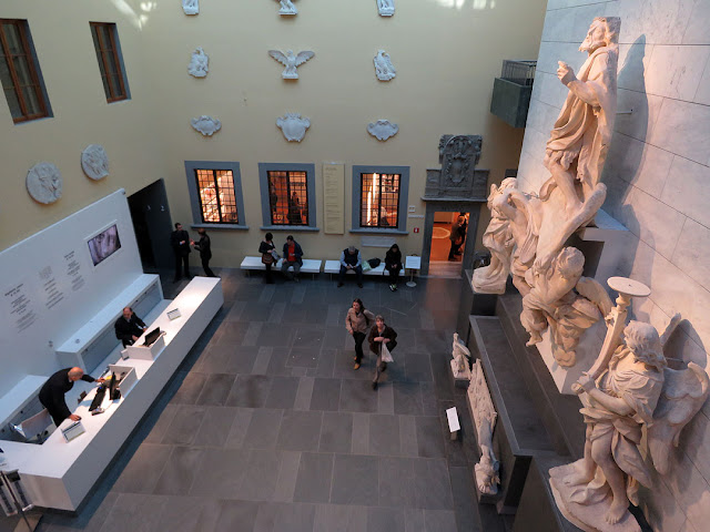 Entrance Hall, Museo dell'Opera del Duomo, Museum of the Works of the Cathedral, Piazza del Duomo, Florence