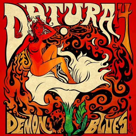 DATURA4 - Demon blues (2015)