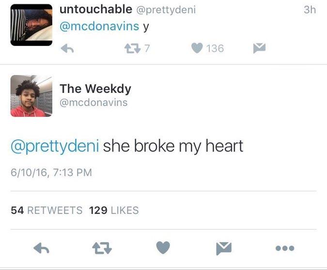 "Boy shames his ex-lover on Twitter for ""breaking his heart"""