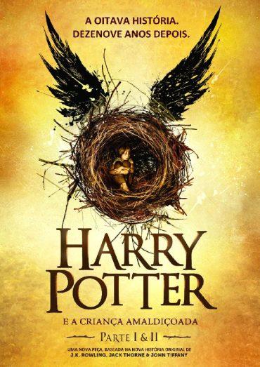 Livro Harry Potter e a Criança Amaldiçoada (J.K. Rowling)