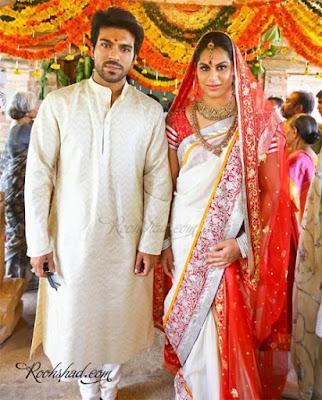 a star-studded wedding