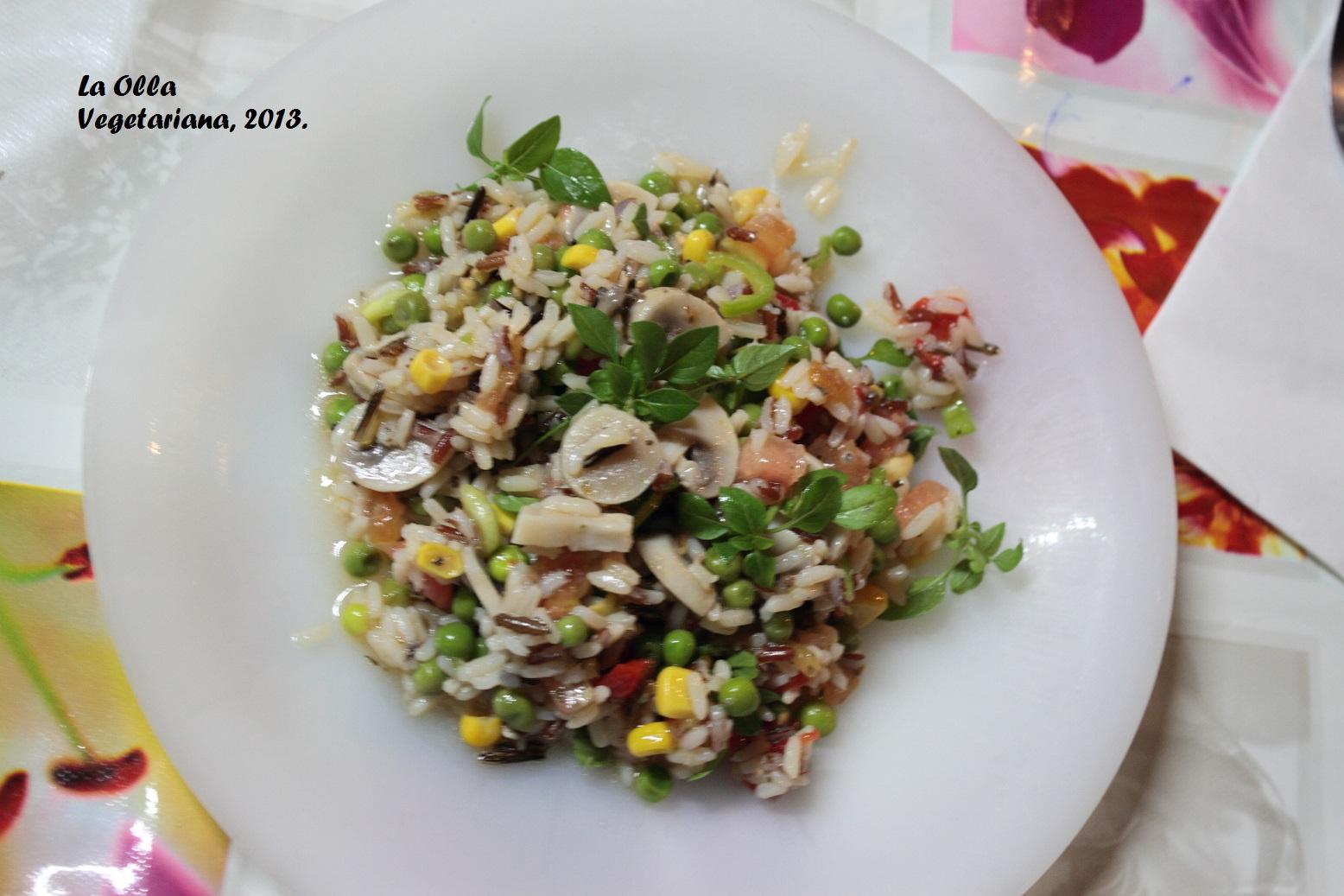 La Olla Vegetariana agosto 2013