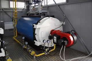 industrial steam boiler gas fired
